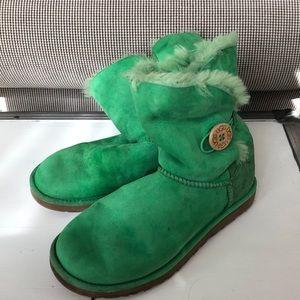 Green Uggs